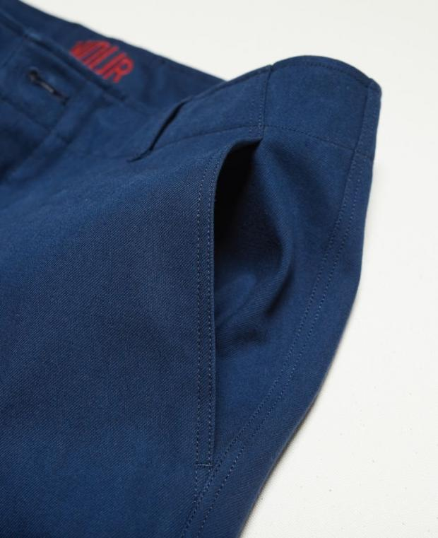 pantalon bleu kidur poche avant