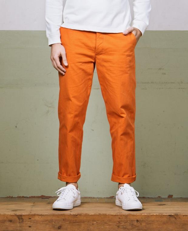 pantalon orange face kidur