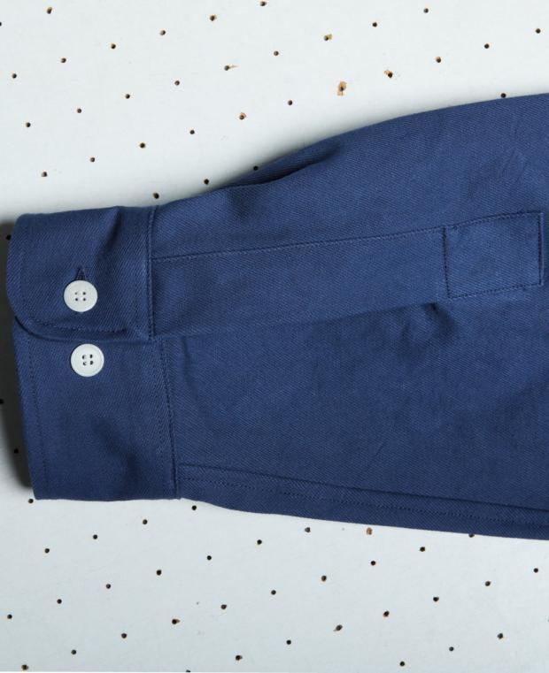 chemise bleu kidur