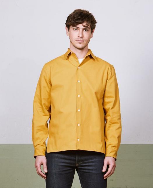 chemise jaune kidur