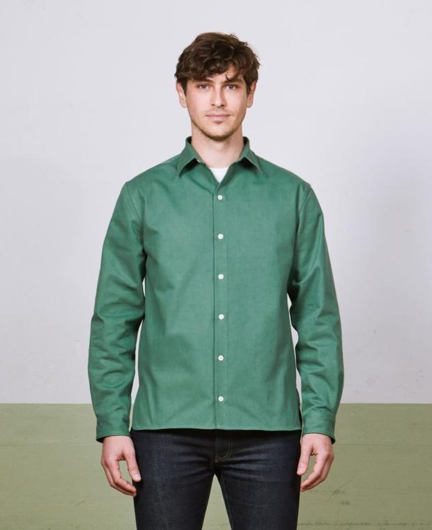 chemise vert kidur