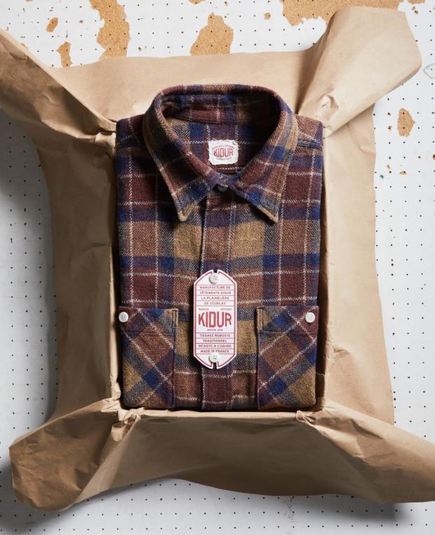 Work Shirt Brown Sugar