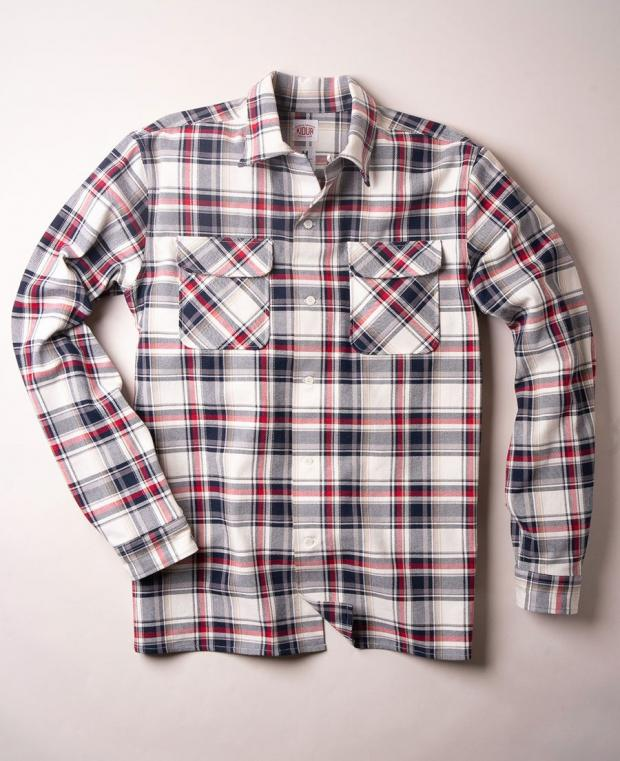 chemise myrtille devant