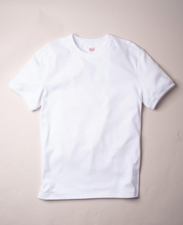 t-shirt blanc pris de devant