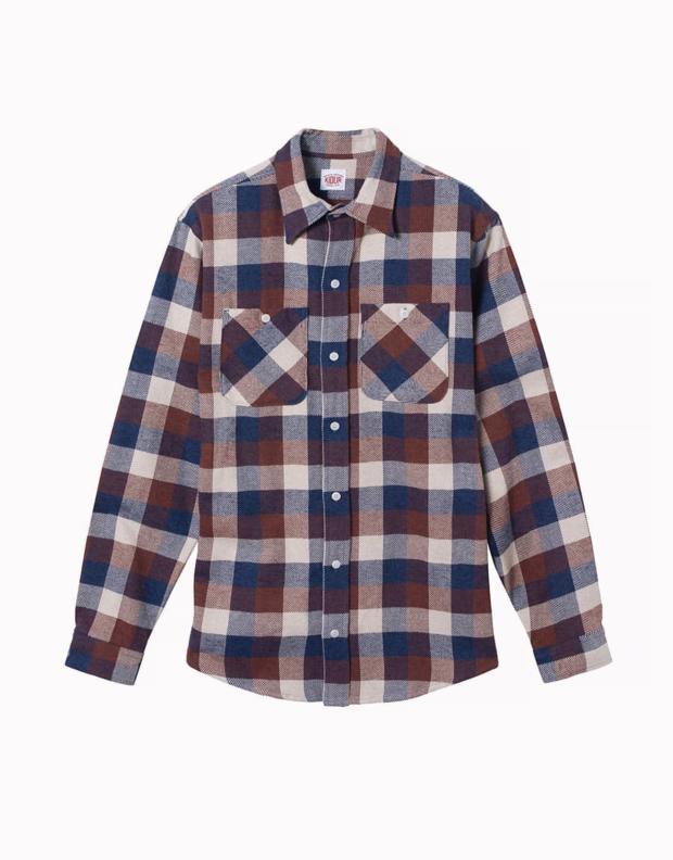 Packshot Work Shirt Crème de Marron