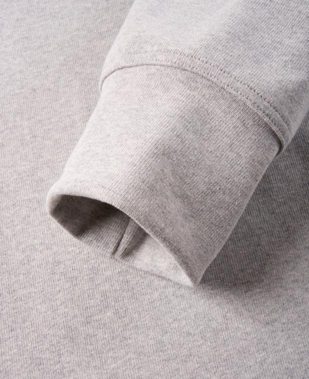 zoom manche t-shirt gris