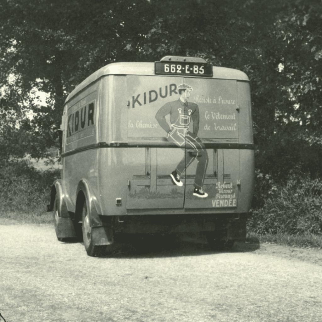 Archive d'un camion Kidur